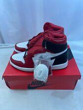 NEW Nike Air Jordan 1 Retro High Satin Snake Chicago W CD0461-601 Size 12 W