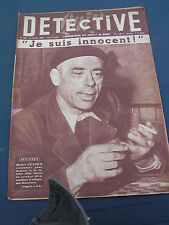 Détective 1955 450 SEICHES LOIR GUé ALLERé BARBENTANE LéRY BAGNOLES DE L'ORNE