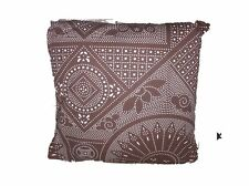 "Mudhut Brown Decorative Pillow 18"" x 18"""