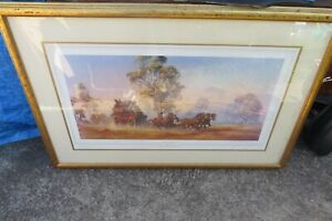 Darcy Doyle d'Arcy  Doyle crossing the Plains Limited Edition Hand signed  Print