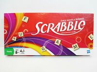 2008 Scrabble Crossword Game w/ Wooden Tiles HASBRO Family Game New Old Stock