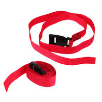 """2x Golf Trolley Webbing Straps with Adjustable Quick Release Buckle 39'' 1"""""""