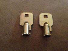 2 Craftsman - Gladiator Tubular Toolbox Lock Keys Code Cut F21 Tool Box Key