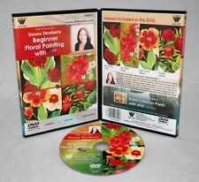 Donna Dewberry DVD, Beginner Floral Painting, wOil, oil painting, great gift!