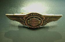 HARLEY-DAVIDSON MOTORCYLES 110th ANNIVERSARY PIN 1903-2013