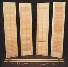 "Basic Wood DIY Interior Shutter Kits 44"" W"