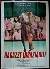 manifesto 4FG RAGAZZE INSAZIABILI RAQUEL EVANS PESCINO IQUINO ALBA LAY PORNO SEX