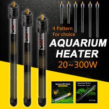 20-300W Aquarium Water Submersible Heater Protective Cover Automatic  UK UK UK