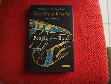 "Geraldine Brooks SIGNED book ""People of the Book"" 1st Ed HC/DJ Like New COA"