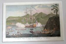 Tahiti  exploration. 1760's