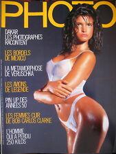 magazine PHOTO N° 246 GLAVIANO VERA LEHNDORFF BODY-PAINTING PIN-UP FIFTIES 1988