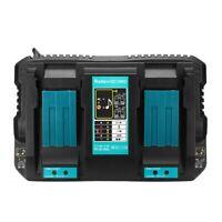 4Ah  Dual Li-ion Battery Fast Charger For Makita 14.4V 18V DC18RA DC18RC BL1830