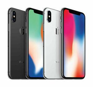 Apple iPhone X  64GB ~ 256GB GSM / CDMA Factory Unlocked Phone