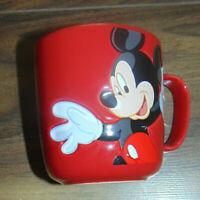 Disney Disneyland Paris Exclusive Coffee MUG Pott Tea Embossed Mickey Mouse