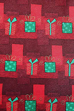 """Hallmark Christmas Tie, 100% Silk, NWT, Red, Green, Holiday Gifts, 58"""""""
