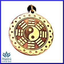 Amuleto Talismano Ciondolo TAO Yin Yang nell' anello degli 8 triagrammi