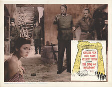 The Guns of Navarone 1961 11x14 Orig Lobby Card FFF-53150 Fine, Very Good