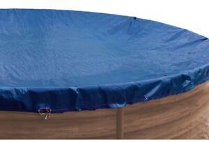 Abdeckplane Pool Abdeckung Premium für Rundbecken Rund 200 g/m² well2wellness