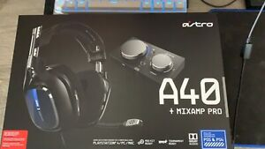 astro a40 headset + mixamp pro ps4