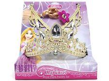 Disney Princess Rapunzel Tiara Toy Set Crown Necklace Hair Girls Kids Child Gift