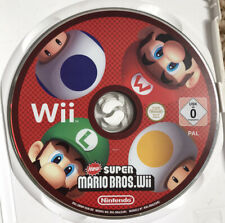 New Super Mario Bros. - Nintendo Wii 2009 Game 'Missing Cover & Manual'