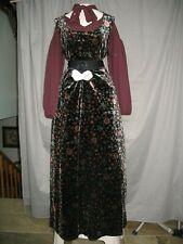Victorian Dress Edwardian Womens Costume Civil War Style Reenactment Outfit