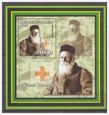 0424 Mozambique 2002 Red Cross Henri Dunant S/S Mnh
