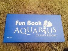 Aquarius Casino Resort Fun Book Laughlin Nevada