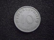 10 Reichspfennig 1940 - 1945, Jg. 371, (Zink) ss-vzgl.