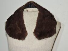1950's Brown Vintage Mink Collar