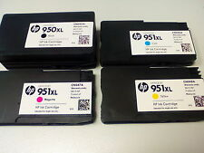 4 ORIGINAL HP 950 XL 951 XL DRUCKER PATRONEN TINTE OFFICEJET 8100 8600 8610 8620