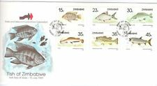 Zimbabwean Fish African Stamps