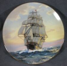 Young America Homeward Bound #3 Golden Age Clipper Ships Collector Plate Vickery