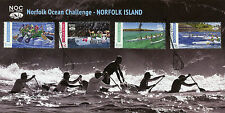 Norfolk Island 2016 FDC Norfolk Ocean Challenge NOC Rock 4v Cover Boats Stamps