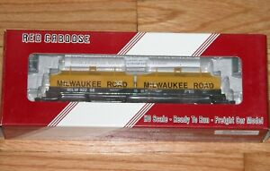 RED CABOOSE RR-32527-9 100 TON EVANS COIL CAR MILWAUKEE ROAD MILW 92258