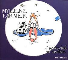 Mylène Farmer Maxi CD Dessine-Moi Un Mouton (Remixes) - France (EX+/M)