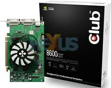 Club 3D 8600 Gt Overclocked Edition CGNX-G862DD, 512MB GDDR3, Dual DVI , S-VIDEO