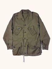 Vintage OD Canadian Military Combat Jacket MD SM Olive 80s 90s
