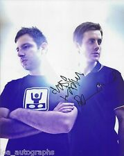 Chase & Status EDM duo REAL hand SIGNED 8x10 Photo #4 Dubstep w/ COA Autographed