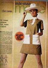 MIC MAC MODE 1970 /  8 pages avec patron à décalquer . fashion pattern