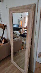 Großer spiegel xxl Holzrahmen etwas Shabby etwas modern