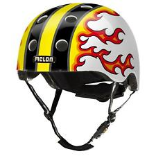 Melon Helm Fired Up Fahrradhelm mit Flammen