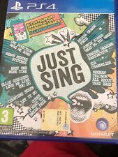 JUST SING PS4