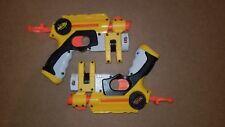 Nerf Nite Finder Pair Pistol Dart Gun Blaster Integrated Light Plunger Used