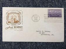 1944 Mindew Nebr. Envelope with Blank Paper