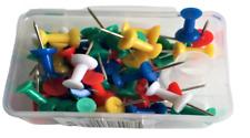 100 Stück Pinwandnadeln Nadeln Heftzwecken Pinnwand Pinnadeln Push Pins
