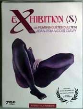 EXHIBITION (S) BOX - 7 DVD Erotico Beccarie OOP