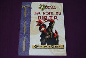 D20 SYSTEM L5R L5A ROKUGAN JDR Jeu de Role - La Voie du Ninja