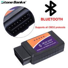 Mini ELM327 Bluetooth OBD2 Car Diagnostic Tool OBDII Code Reader Scanner Android