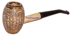 Original Missouri Country Gentleman 6mm Filter Corn Cob Pipe Bent NEW